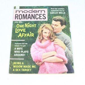 Vintage April 1963 Modern Romance Gossip Magazine